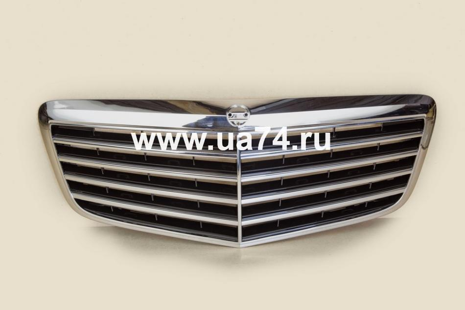Решетка радиатора MERCEDES W211 06-09 (ST-MD57-093-B0 / SAT)