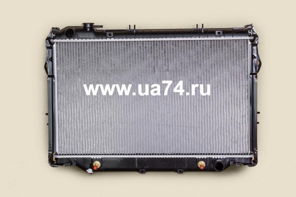 Радиатор двс пластинчатый Toyota Land Cruiser J80 HD / HZ 90-96 Diezel AT / MT (JPR0104 / JustDrive)