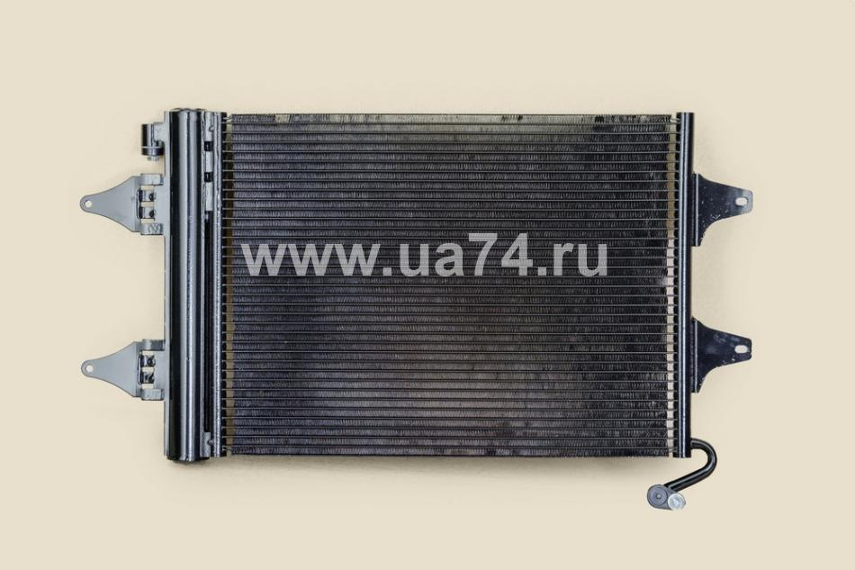 РАДИАТОР КОНДИЦИОНЕРА VW POLO 02>/SKODA FABIA 00-09 (6Q0820411 / ST-SD02-394-0)