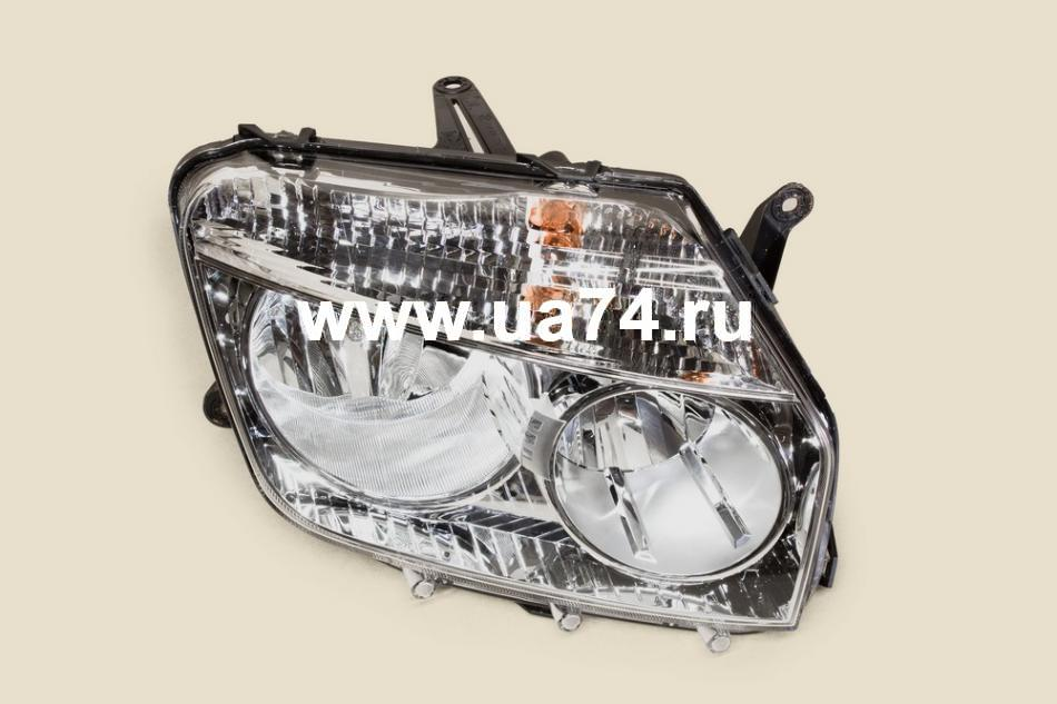 Фара хром оригинальн. RN DUSTER 10- RH ПРАВАЯ (ALRU676512096 / 260100067R / Automotive Lighting)