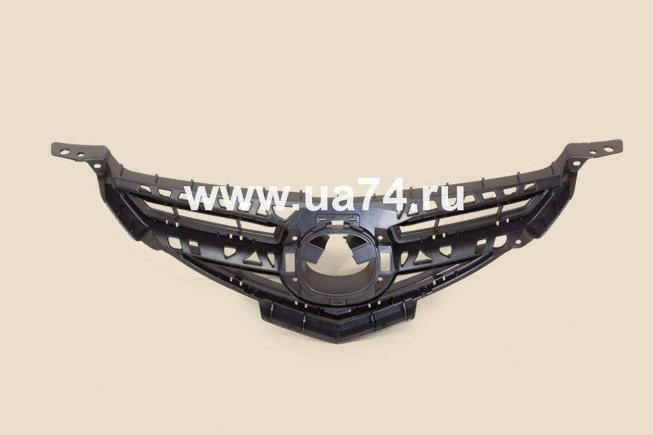 Решетка радиатора Mazda 3  Sedan 07-09 (SPORT TYPE)(MZ1430930-6000 / API)